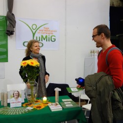 World of Yoga Berlin 2014 – YuMiG e.V. präsentiert sich