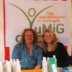 YuMiG e.V. auf dem 11.Berliner Yogafestival 2015